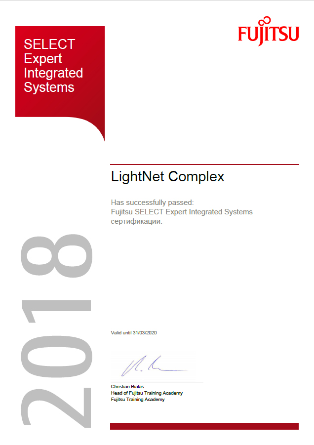 Fujitsu - SELECT Expert Integrated Systems