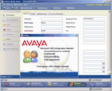 Лицензия Avaya IPO Office License - IP400 MICROSOFT CRM INTGR RFA